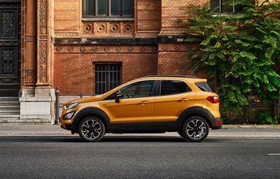 Ford Active-gamma breidt uit: nu ook EcoSport Active