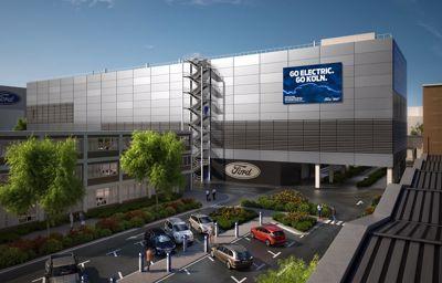 Ford's elektrificatie centrum van Keulen