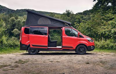 Ford's nieuwe kampeerwagen: de 'Trail'-versie