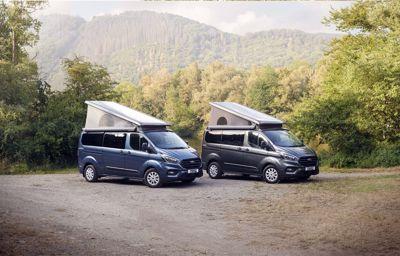 Ford voegt kanteldak toe aan de Transit Nugget Plus