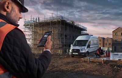 Bedrijfsvoertuigen van Ford: modem, verbonden diensten en directe updates