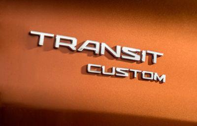 Nieuwe generatie Ford Transit Custom All-Electric