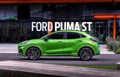 Ford kondigt Puma ST aan