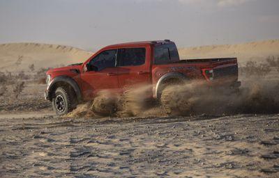 Woestijn Roofdier: de geheel nieuwe F-150 Raptor