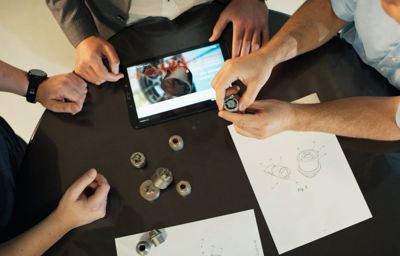 Ford ontwikkelt 3D-geprinte wielsloten tegen diefstal