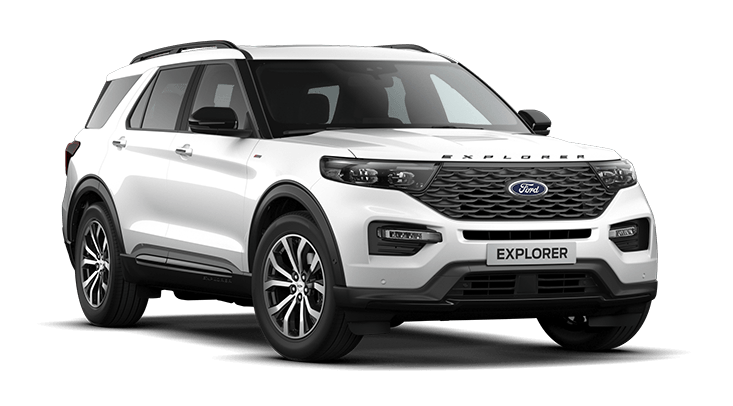Ford Explorer Virtuele Showroom