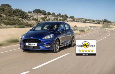 Nouvelle Ford Fiesta : note maximale de 5 étoiles