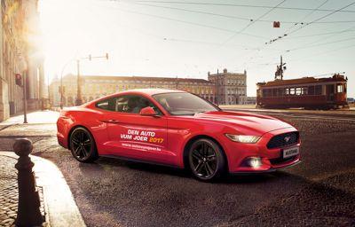 Ford Mustang élue 'Voiture de l'année 2017'