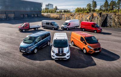 Ford Transit Custom : le véhicule commercial le plus vendu