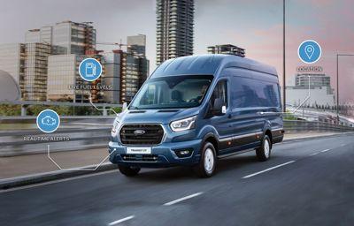 Découvrez le Ford Transit 2T le plus intelligent jamais conçu !