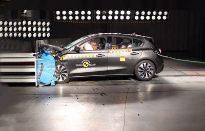 La nouvelle Ford Focus - a obtenu la note maximale aux tests NCAP
