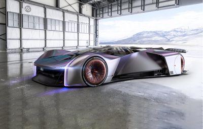 Une voiture de course virtuelle P1 ultime conçue avec des joueurs