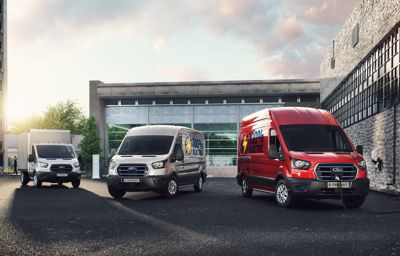 Ford dévoile l'E-Transit