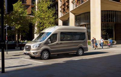 Ford Transit : maintenant disponible avec une nouvelle transmission automatique à 10 vitesses