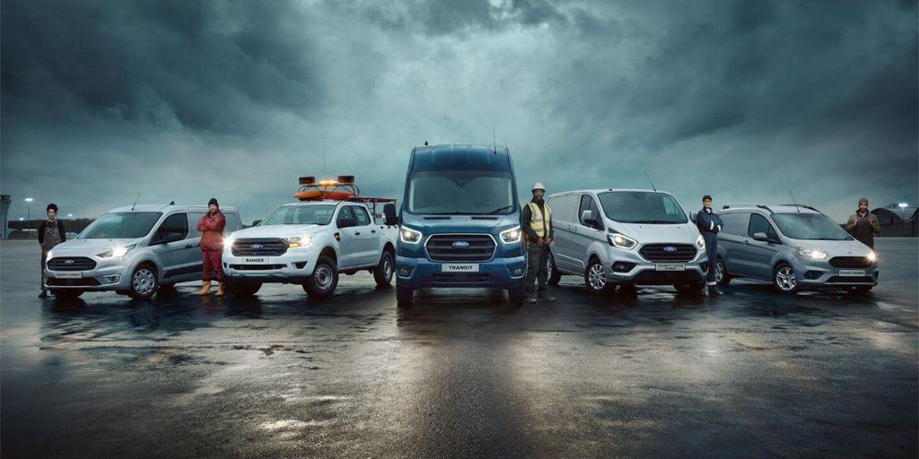 Der richtige Ford für Ihr Unternehmen Lüscher AG Muhen