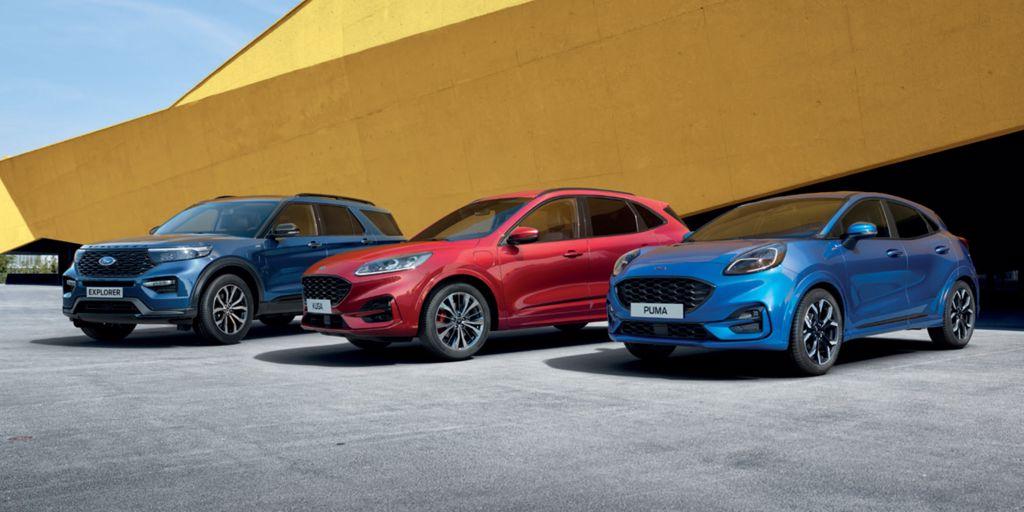 Ford Hybrid Familie
