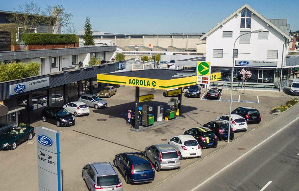 AGROLA Tankstelle Garage Baumann Schwarzenbach