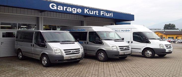 Miet & Zügelbusse | Autogarage Kurt Fluri AG, Bellach