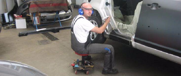 Ford Carrosserie bei Grenz Garage Bronschhofen