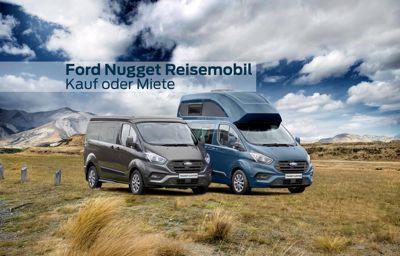 Die neuen Ford Transit Custom Nugget Kaufen oder Mieten