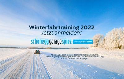 Absage des Wintertraining 2021 - Anmeldung für 2022 laufen