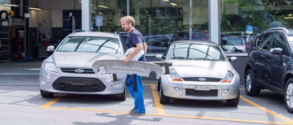 Karosserie Schönegg Garage Spiez