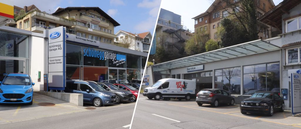 Schönegg-Garage Spiez Dienstleistungen