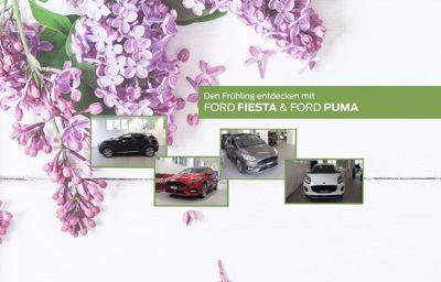Den Frühling entdecken mit Ford Puma & Ford Fiesta