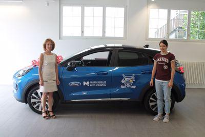 Ford Garage Wehntal ist der Sponser der Frauen JETS.