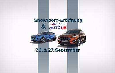 Autolie & Showroom-Eröffnung