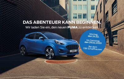 Premiere des neuen Ford PUMA