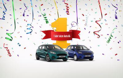 wir feiern 1 Jahr Sulzer Auto!