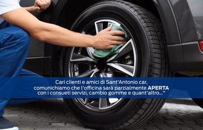 Cari clienti di Sant'Antonio car