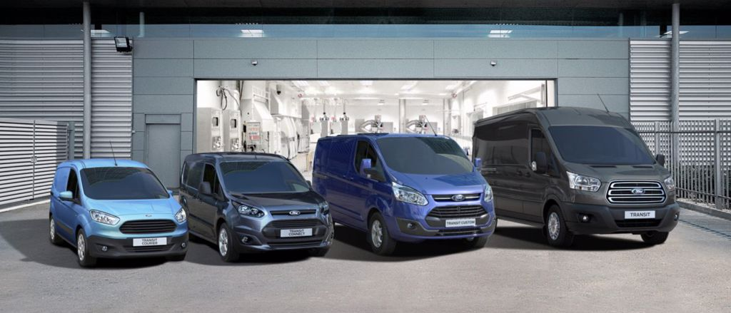 Ford Transit Center | Garage Red Star S.A.