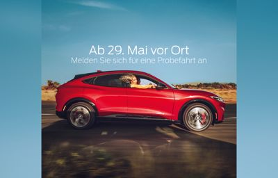 Ford Mustang Mach-E bei uns vor Ort