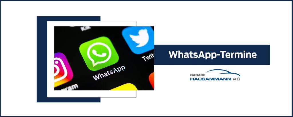 WhatsApp-Termine
