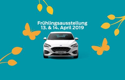 Frühlingsausstellung 13. & 14. April 2019