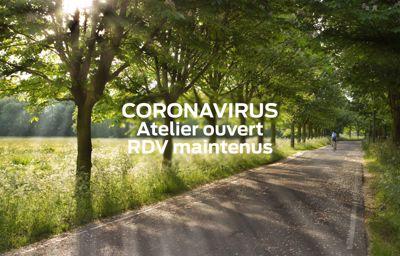 **CORONAVIRUS**: Atelier ouvert   RDV maintenus