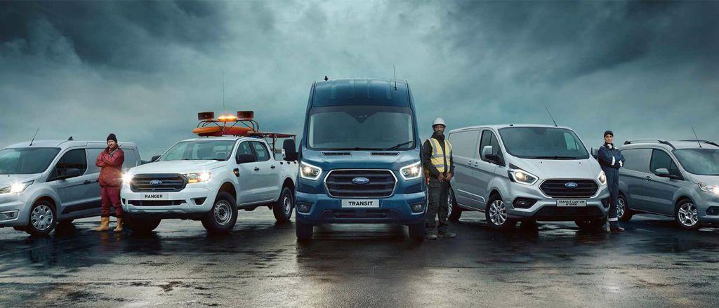 gamme ford transit professionnel commerciaux
