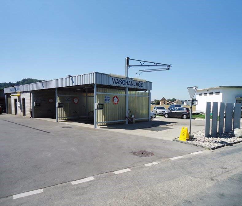 Waschanlage Jura-Garage Peter Büren an der Aare