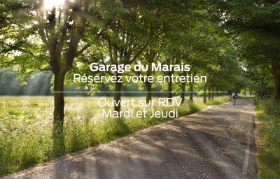 **Prenez RDV** au Garage du Marais