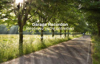 **Réservez votre entretien** au Garage Racordon