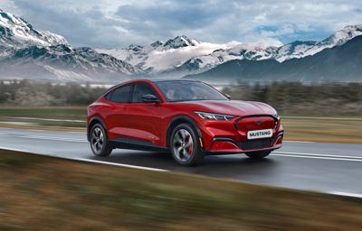Ford Mustang Mach-E Testtage: 10. - 12. Juni 2021