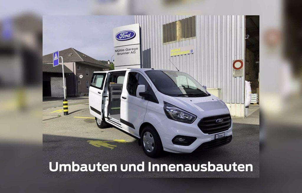 Umbauten und Innenausbauten Mühle Garage Brunner AG in Langnau