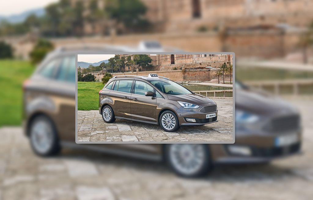 Ford Geschäftskunden Taxi