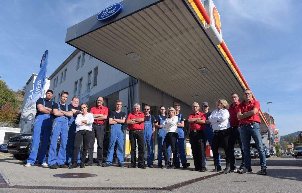 Mühle-Garage Brunner Langnau Team Gruppenbild