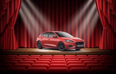 Ausstellung des neuen Ford Focus