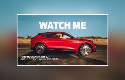 Ford Mustang Mach-E: Jetzt Probe fahren
