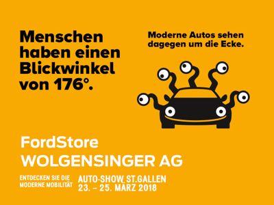 Autoshow St.Gallen mit dem FordStore WOLGENSINGER AG