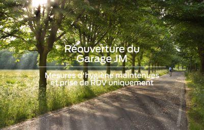 Réouverture du Garage !